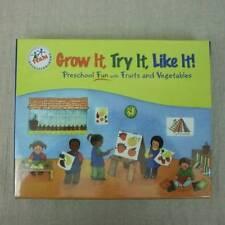 Grow It, Try It, Like It Preschool Fun w/ Fruits & Vegetables 6 Booklets Sealed