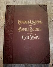 CIVIL WAR ILLUSTRATED MILITARY HISTORY 1896 UNION CONFEDERATE ABRAHAM LINCOLN US