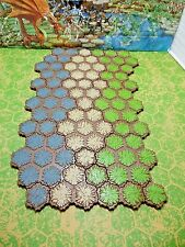 Expand Your Heroscape Battlefield with 84 hexes of Grass, Rock & Sand Terrain