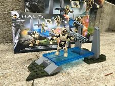 Halo Mega Bloks Set #CNK25 UNSC Fireteam Rhino Figure #1 With Background!!