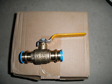 lot of 8 propress ball valve 1 inch C full port lead free BLOWOUT PRICE press