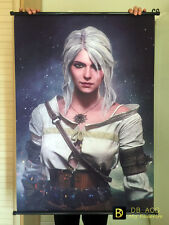 The Witcher 3 Ciri Home Decor Poster Wall Scroll Painting 60*90cm free shipping