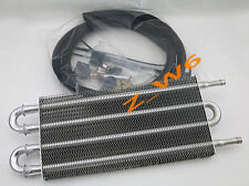 UNIVERSAL CAR TRUCK TRANS ALUMINUM ENGINE/ TRANSMISSION RACING OIL COOLER