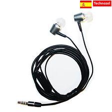 Auriculares Para Samsung Galaxy Note 2 Con Microfono Alta Calidad METAL Gris
