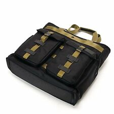 Tumi Weekend Tote Black Ballistic Nylon Military Carry-on Bag Luggage Briefcase