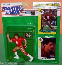 1993 STEVE YOUNG San Francisco 49ers - low s/h- Starting Lineup forty-niners