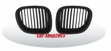 Front Kidney Grilles Matte Black for BMW Z3 1996-2002 Convertible/Coupe