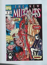 New Mutants 98 Feb 1991 NM 1st Deadpool Gideon Domino Rob Liefeld Cable