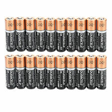 Pro 20Pcs AA 1.5v Alkaline Duracell Batteries Home Use FactoryFresh Bulk Battery