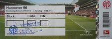 TICKET BL 2015/16 FSV Mainz 05 - Hannover 96