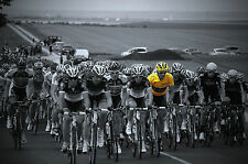 FABIAN CANCELLARA TOUR DE FRANCE 2012 TEAM RADIOSHACK YELLOW JERSEY POSTER