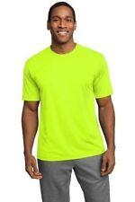 NEW Men's SPORT TEK Dri-Fit Workout Running Short Sleeve T-SHIRT S-3XL 4XL ST350