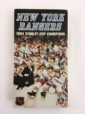 New York Rangers 1994 Stanley Cup Champions VHS Tape NHL ESPN 50 Minutes ABC
