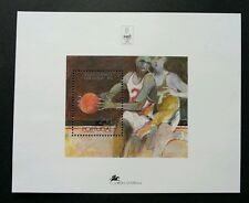 Portugal Olympic Games - Barcelona 1992 Sport Games Basket Ball (miniature) MNH