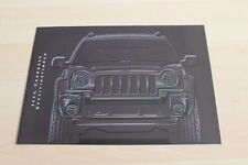 120745) Jeep Cherokee - Farben & Austattung & tech. Daten - Prospekt 09/2001