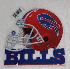 BUFFALO BILLS NFL BRAND NEW WINDOW HELMET SCRIPT LOGO HANGING DECORTATIONS