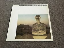 SIMPLE MINDS - EMPIRES AND DANCE - 1982 LP EX - 1000'S MORE LP'S IN MY EBAY SHOP