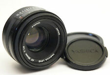 Yashica AF 50mm f1.8 Yashica AF mount lens in excellent condition stock No.U0521