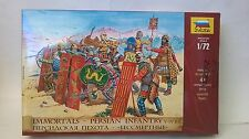 ZVEZDA 1:72 KIT IMMORTALS - PERSIAN INFANTRY V - IV B.C. FANTERIA PERSIANA  8006