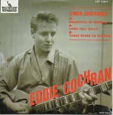 CD SINGLE Eddie COCHRAN C'mon Everybody 4-track CARD SLEEVE   NEUF SCELLE ☆