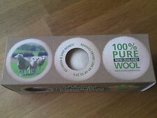 3 x XL Wooly tumblers dryer balls 100% pure new zealand wool , free postage