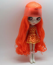 "12"" Neo Blythe Doll Orange Hair Factory Nude Doll from Factory JSW3004"