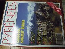 µ? revue Pyrenees Magazine n°15 Canigou Febus Chants Basques Chauve-Souris