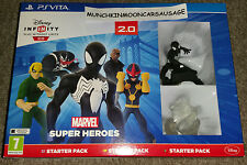 Nuevo Sellado Disney Infinity 2.0 Marvel Super Heroes Starter Pack Pal Sony Ps Vita