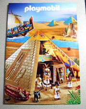 RARE GREEK PLAYMOBIL CATALOG 2009 EGYPTIAN PYRAMID GREECE NEW !
