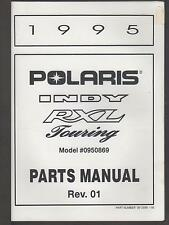1995 POLARIS SNOWMOBILE INDY/RXL/TOURING  P/N 9912898 PARTS MANUAL (740)