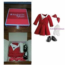 American Girl Kit's Holiday Outfit Xmas Christmas Dress Scottie NEW IN BOX