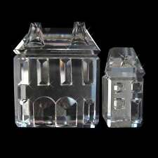 SWAROVSKI SERIE DI CASE SET OF HOUSE NUOVO RITIRATO 1994 7474 200 000 158981 new