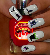 DISNEY MALEFICENT Nail Art Stickers Transfers Decals Set of 58. DM-001-58