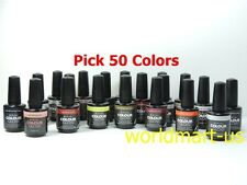 Artistic Nail Design Colour Gloss Soak Off Gel : 50 Colors * Choose Any Color *