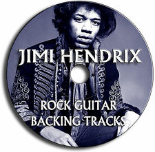 21 x JIMI HENDRIX ROCK GUITAR BACKING TRACKS CD ANTHOLOGY COLLECTION JAM TRAXS