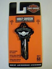 Harley Davidson  Wings Schlage House key blank