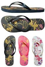 WHOLESALE LOT 48 Pairs Ladies Floral Print  Beach Flip Flop...(#333L)