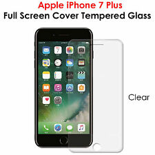 3D Full Curved Screen Coverage HD Tempered Glass For Apple iPhone 7 Plus #CLEAR