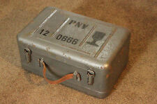 Vintage PNV-57 Russian Vehicle Night Vision Goggles Case w/Parts Infrared Lenses