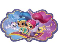"Shimmer & Shine 27"" Anagram Balloon Birthday Party Decorations"