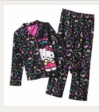 Hello Kitty® Shooting Star Pajama Pj Set Long Sleeve Girls Clothes Size 6
