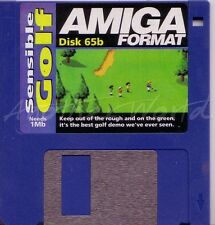Amiga Format - Magazine Coverdisk 65b - Sensible Golf