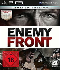 Enemy Front -- Limited Edition (Sony PlayStation 3, 2014)