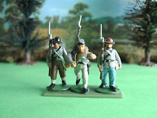 Perry American civil war Confederate soldiers marching 28mm painted