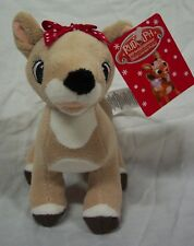 """RUDOLPH THE RED-NOSED REINDEER CLARICE 6"""" Plush STUFFED ANIMAL NEW Misfit Toys"""