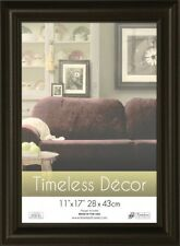 Timeless Frames 11x17 Inch Boca Picture Frame, Black, New, Free Shipping