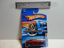 2005 Hot Wheels #6 Red 2005 Ford Mustang GT w/FTE Wheels