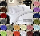 1200 TC EXTRA DEEP POCKET ,SOLID FITTED SHEET,100%EGYPTIAN COTTON,CHOOSE COLOR