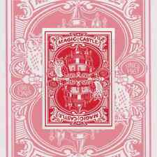 Red Magic Castle Deck Playing Cards Deck New Sealed