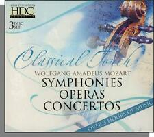 Mozart - Classical Touch - 3 New CD's! 3 Hours - Symphonies, Operas, Concertos!